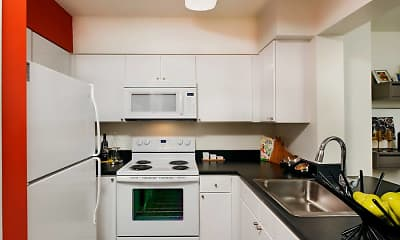 Kitchen, AVA Ballston, 1