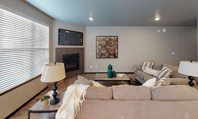 Living Room, Cascade Townhomes, 1