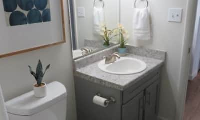 Bathroom, The Ridge at Crestwood Apartments, 2