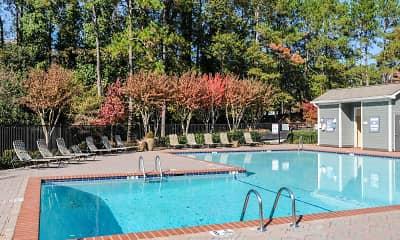 Pool, 1500 Oak, 1
