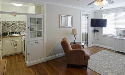 Living Room, The Jefferson Apartments and Suites, 1