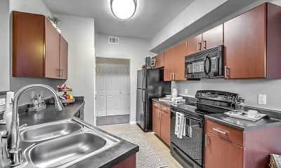 Kitchen, Tribeca North Apartments, 1