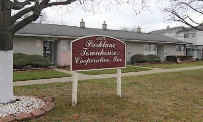 Community Signage, Parklane Townhouses, 2
