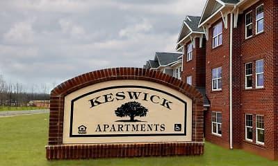 Community Signage, Keswick Apartments I, 1