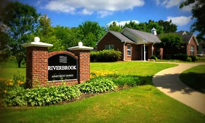 Community Signage, Riverbrook Apartments, 2