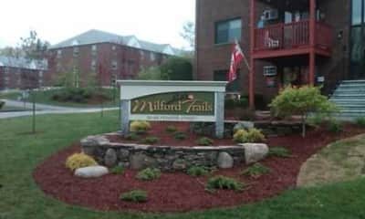 Community Signage, Milford Trails Apartments & Storage, 0
