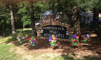 Community Signage, Southwyck Hills Apartments, 1