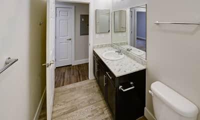 Bathroom, East Village Flats, 2