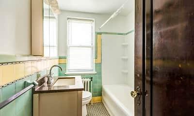 Bathroom, Thames Manor Apartments, 2