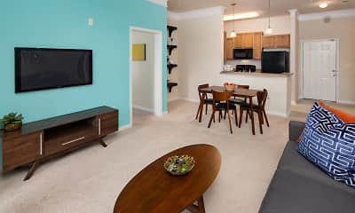 Living Room, Abberly At West Ashley, 1