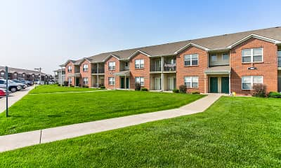 Building, Riverbend Apartments - NE, 1