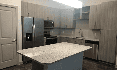 Kitchen, Grande Oaks Parc Apartments, 1