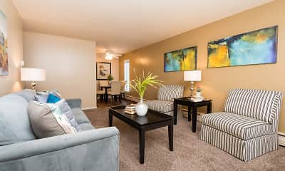 Living Room, Windsor South Apartments, 0
