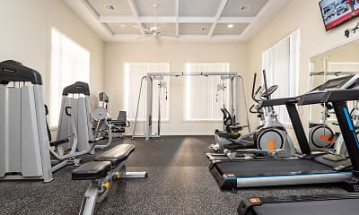 Fitness Weight Room, The STO, 1