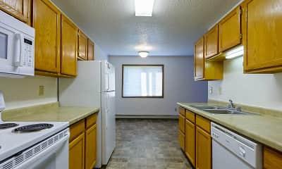 Kitchen, Maple Point Apartments, 1