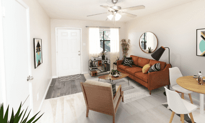 Living Room, The Grove at Southwood, 1