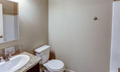 Bathroom, Cedar Park Apartments, 2