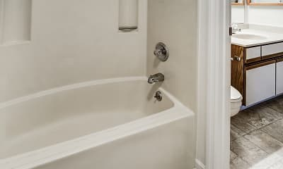 Bathroom, Oakmont Apartments, 2