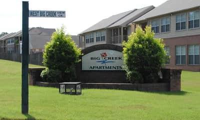 Building, Big Creek Apartments, 0