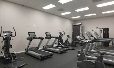Fitness Weight Room, The Coast at Ponte Vedra Lakes, 1