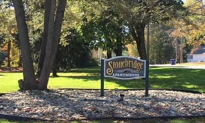 Community Signage, Stonebridge Apartments, 1