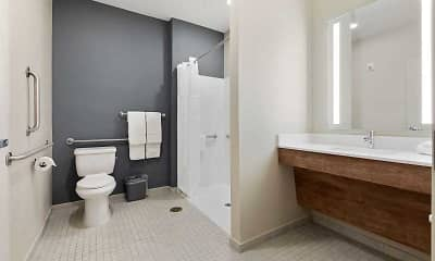 Bathroom, Furnished Studio - Melbourne - Palm Bay, 2