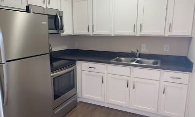 Kitchen, Orchard Terrace Apartments, 0