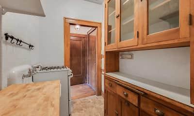 Bathroom, 225 Place Apartments, 1
