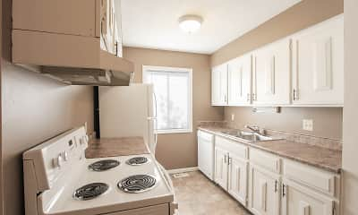 Kitchen, Lake Forest Townhomes, 1