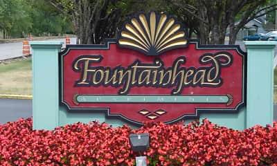 Community Signage, Fountainhead Apartments, 0