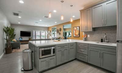 Kitchen, Redlands Park Apartments, 1