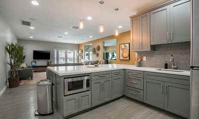 Kitchen, Redlands Park Apartments, 1