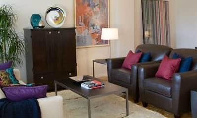 Living Room, Avalon The Albemarle, 0