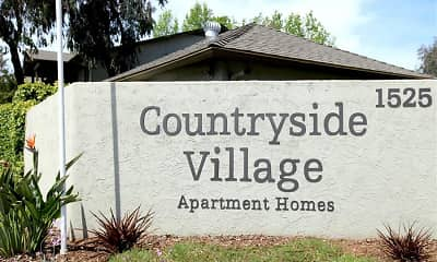 Community Signage, Countryside Village, 0