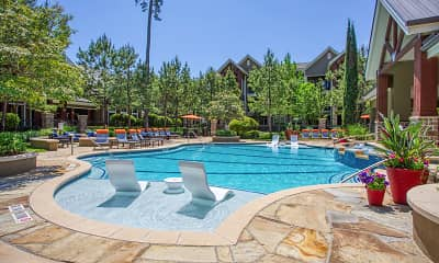 Pool, The Woodlands Lodge, 1