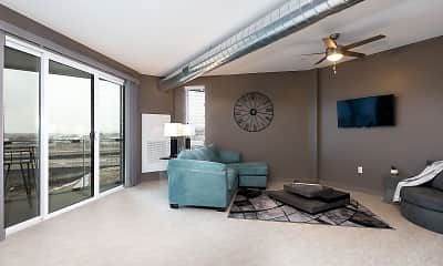Bedroom, The Bridges Lofts, 0