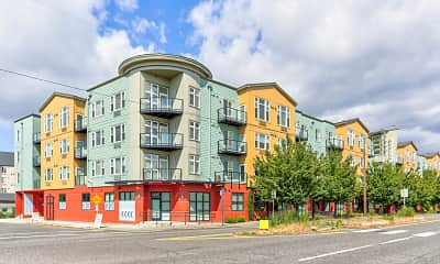 Building, Marine View Apartments, 1