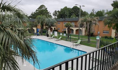 Pool, Largo Pointe/Windsor Arms, 1