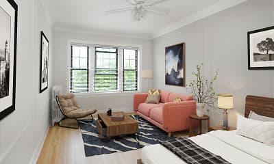 Living Room, 1049 W. Oakdale, 0