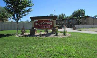 Community Signage, McCarrons Village Apartments, 2