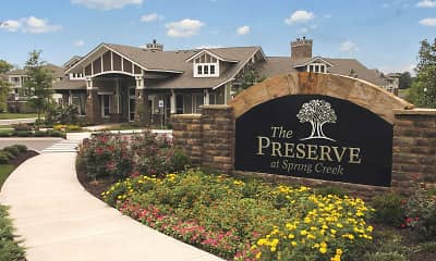 Community Signage, The Preserve At Spring Creek, 1