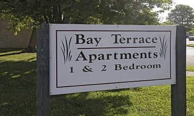 Community Signage, Bay Terrace Apartments, 2
