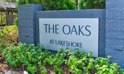 Community Signage, The Oaks At Lakeshore, 2