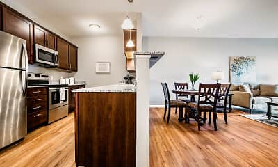 Kitchen, Gateway Green Apartments, 0