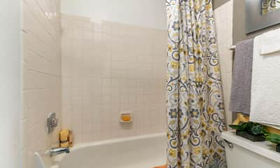 Bathroom, Landmark at Wynton Pointe Apartment Homes, 2