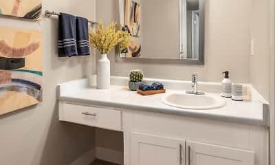 Bathroom, La Mirada, 1
