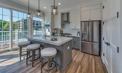 Kitchen, Eldridge Townhomes, 1