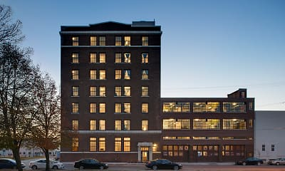 Building, AP Transfer Lofts, 1