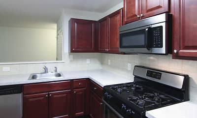Kitchen, Southgate Apartments, 1