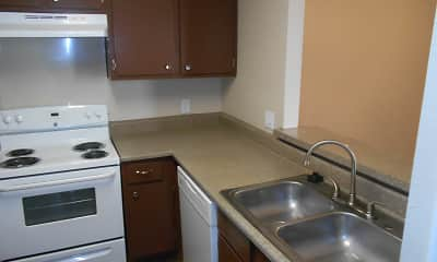 Kitchen, Ridgeway Apartments, 0